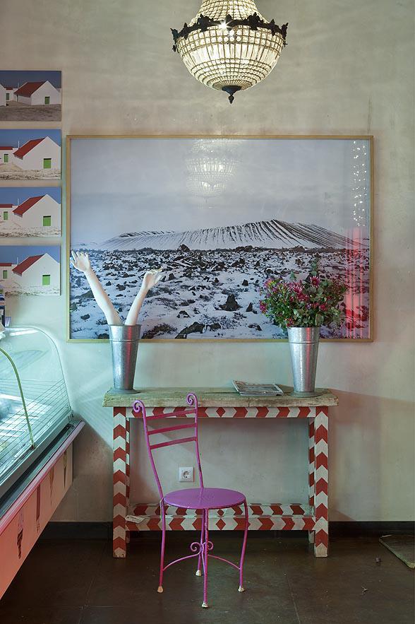 Proyecto interiorismo hosteler a sevilla helader a helarte - Mobiliario vintage sevilla ...