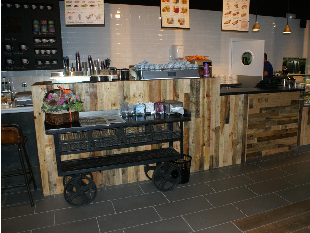 Fs mobiliario contract proyectos de interiorismo cafeter as for Mobiliario para cafe bar