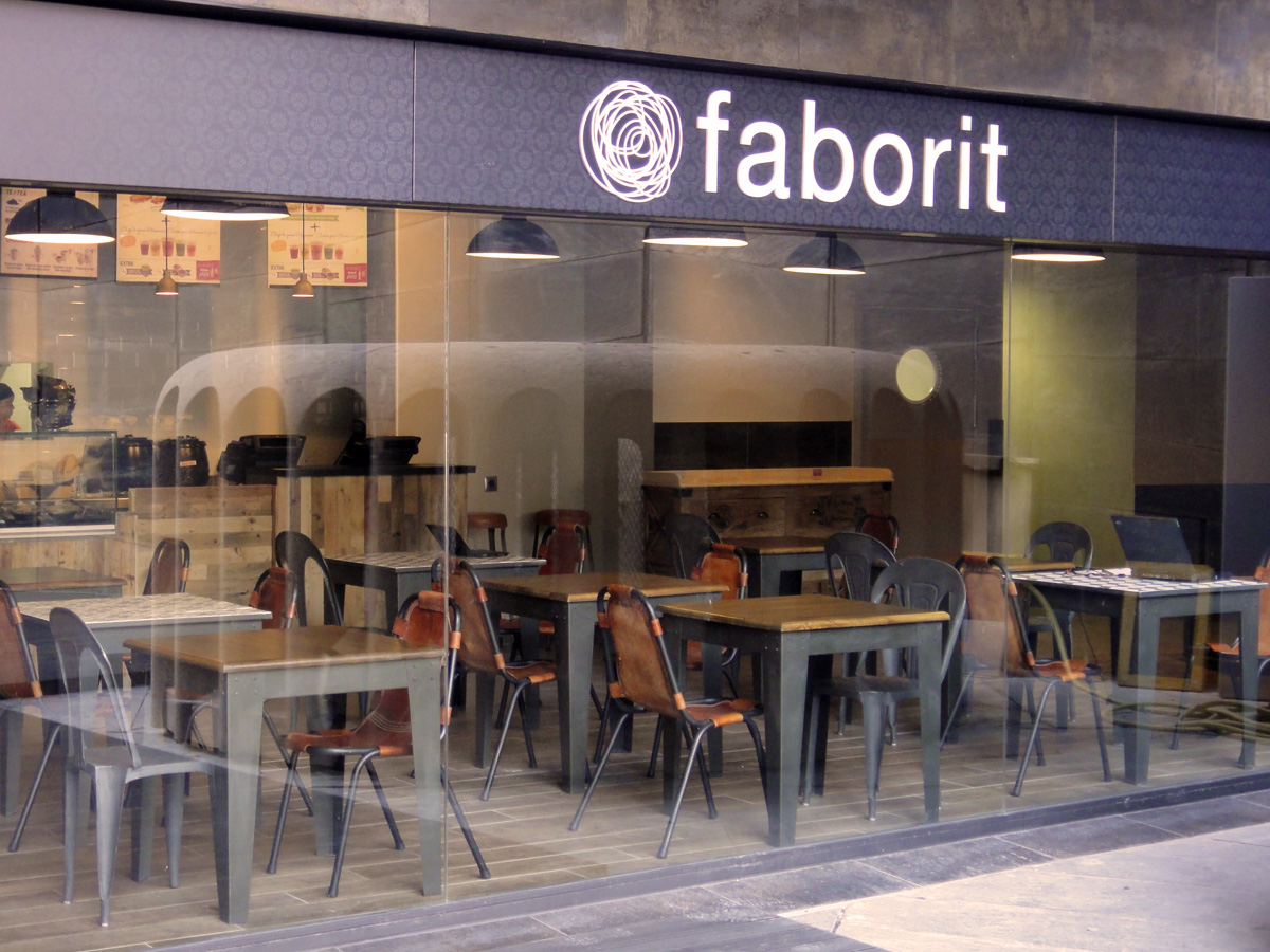 Fs mobiliario contract proyectos de interiorismo cafeter as for Mobiliario cafeteria