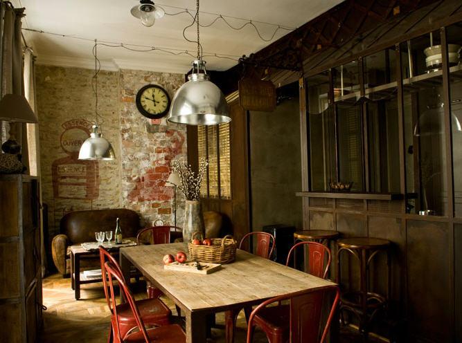 Ferias muebles vintage mobiliario retro e industrial - Decoracion vintage industrial ...