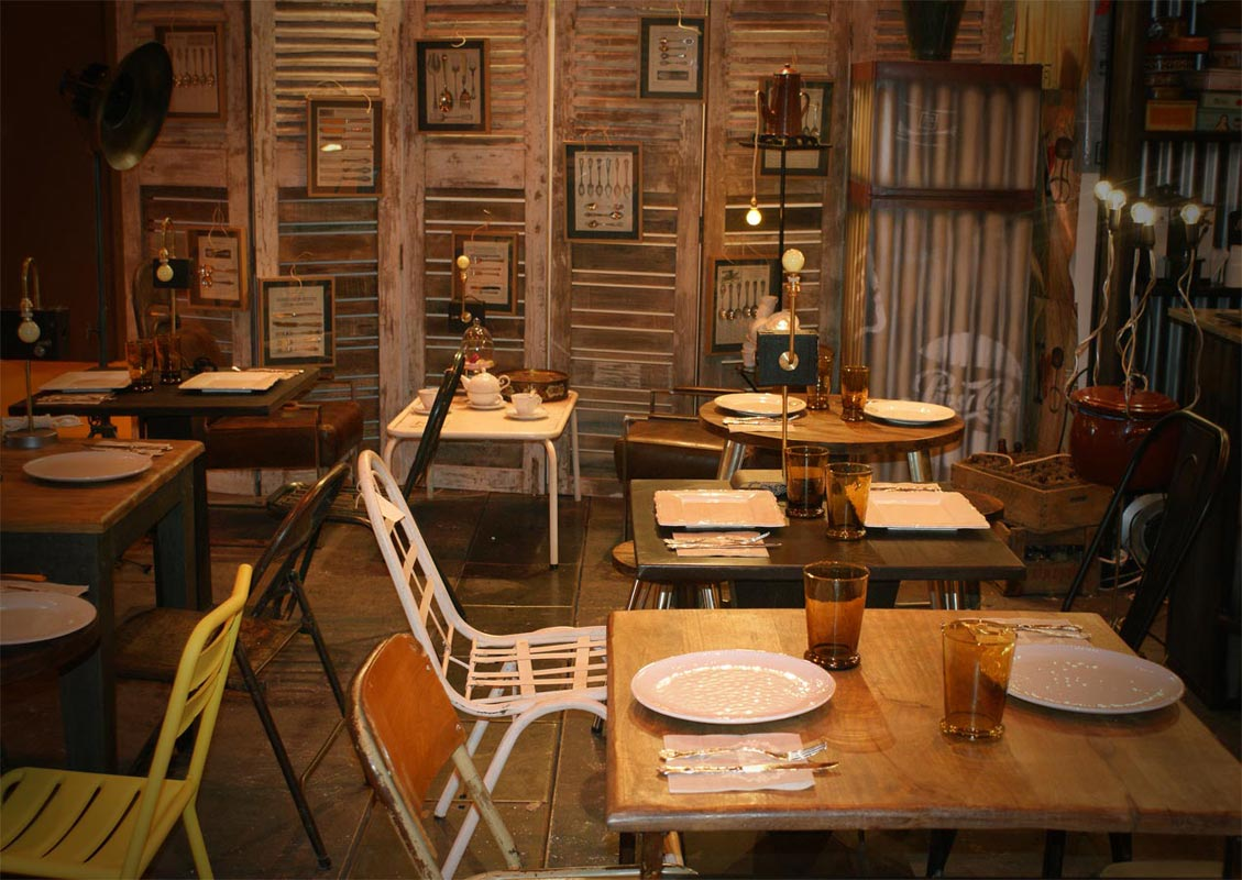 Ferias muebles vintage mobiliario retro e industrial - Mobiliario vintage industrial ...