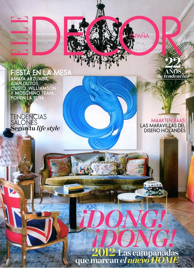 Portada revista ELLE Decor