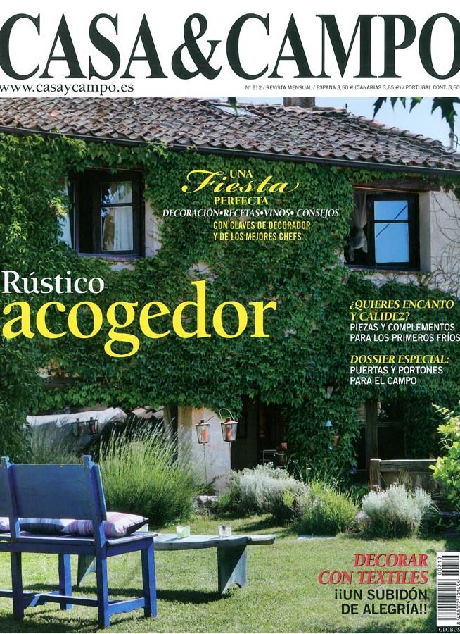 Portada de la revista Casa y Campo