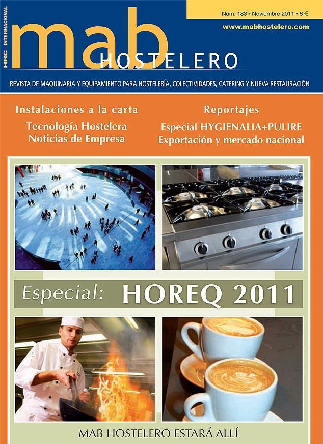 Foto de la portada de la revista para hostelería mab HOSTELERO