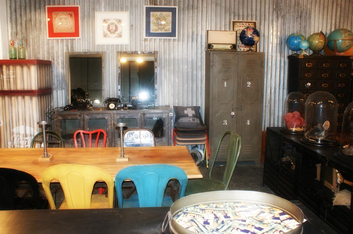 Decoracion vintage de la firma fs muebles en intergift 2012 - Decoracion de interiores vintage ...