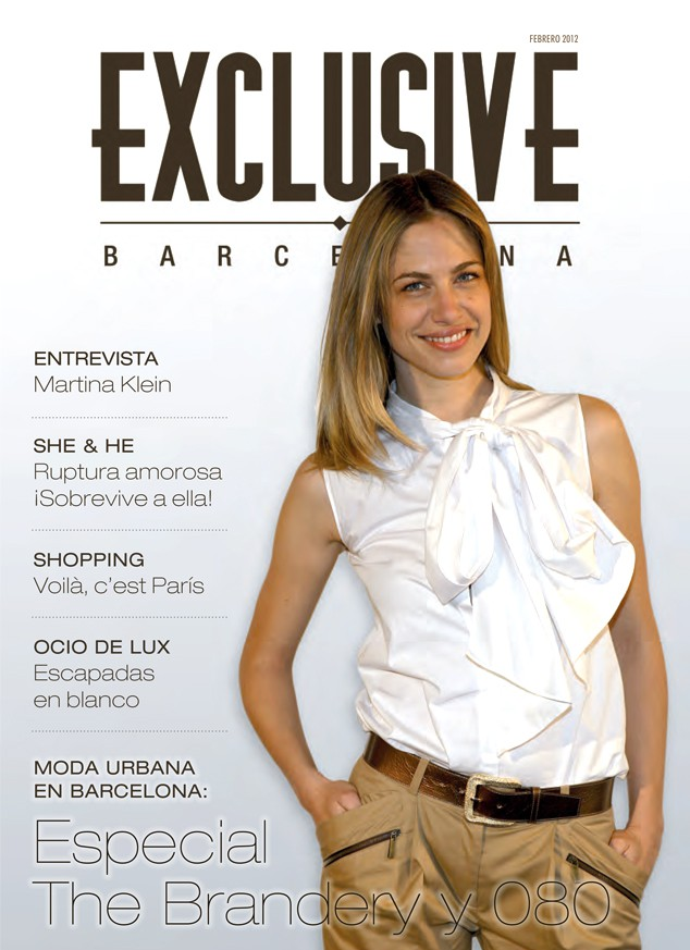 Portada de la revista de tendencias y decoración Exclusive Barcelona