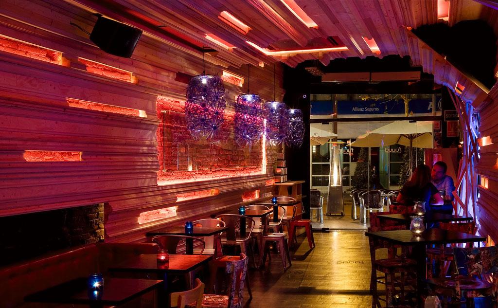 Fuuud interiorismo y decoraci n para restaurantes modernos for Mobiliario para bares y restaurantes