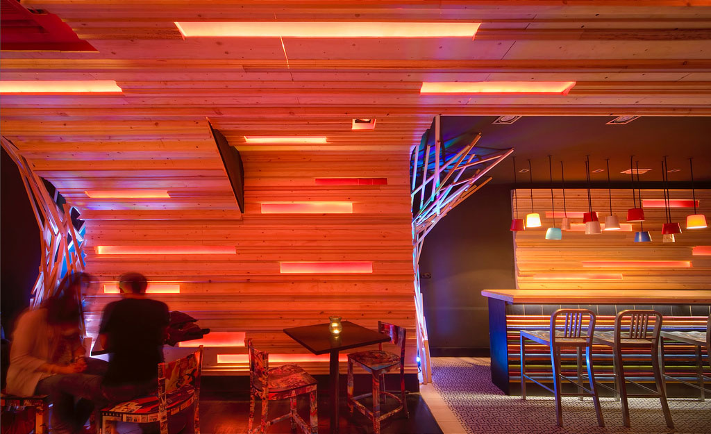 Muebles contract Francisco Segarra para decoración de restaurantes