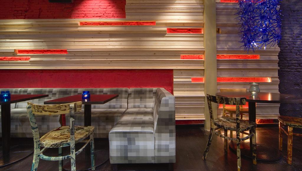 Fuuud interiorismo y decoraci n para restaurantes modernos for Muebles para restaurantes modernos