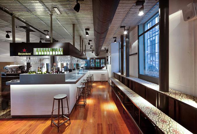 Proyecto de decoraci n interior restaurante la musa latina - La musa latina ...