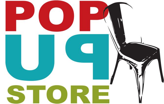Imágen de la tienda efímera pop up de muebles Francisco Segarra