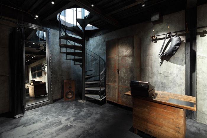 Decoracion industrial tienda for Decoracion tipo industrial