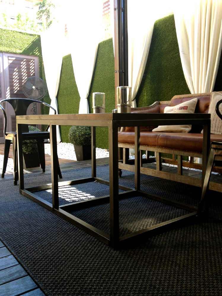 Dise o decoraci n interiores terraza restaurante la misi n - Decoracion terrazas interiores ...