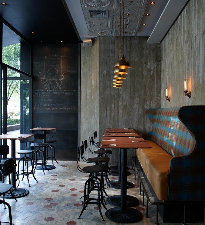 Proyectos de interiorismo hosteler a - Proyecto bar cafeteria ...