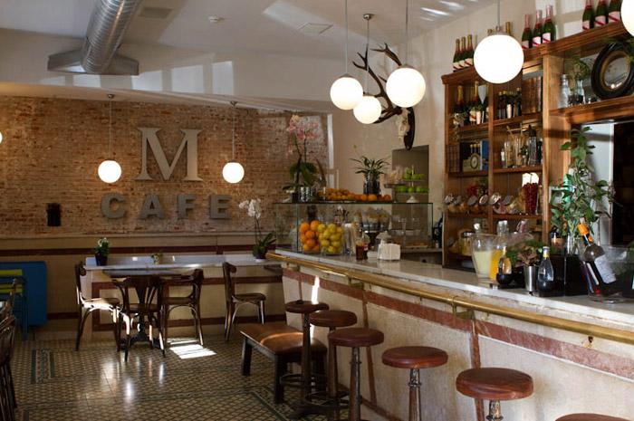 Reforma integral caf murillo con mobiliario de francisco for Mobiliario para cafes