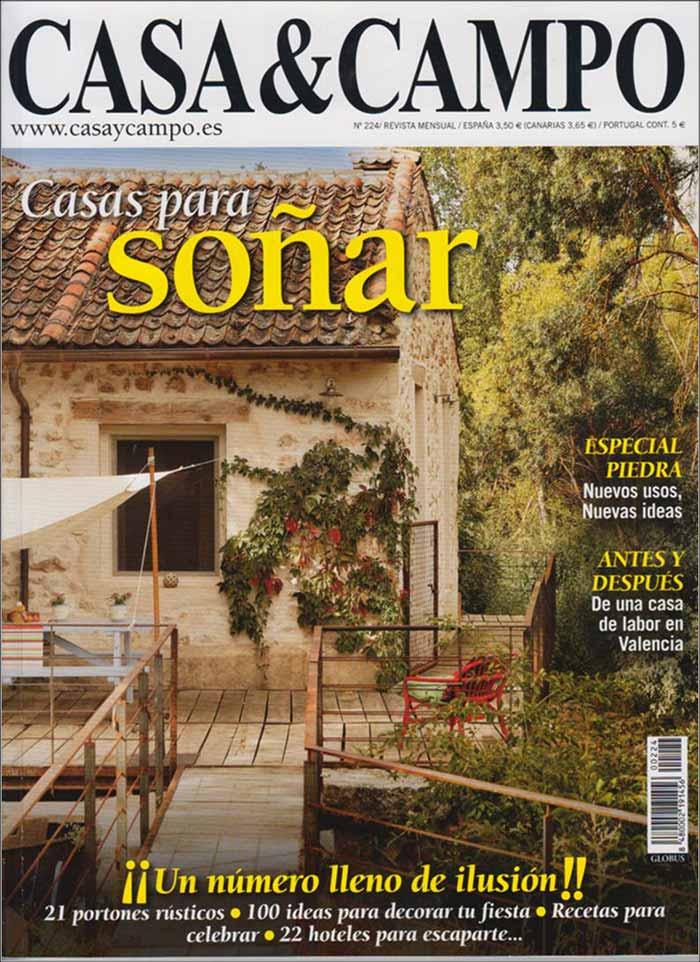 atractiva revista casas de campo el mueble casaycampo