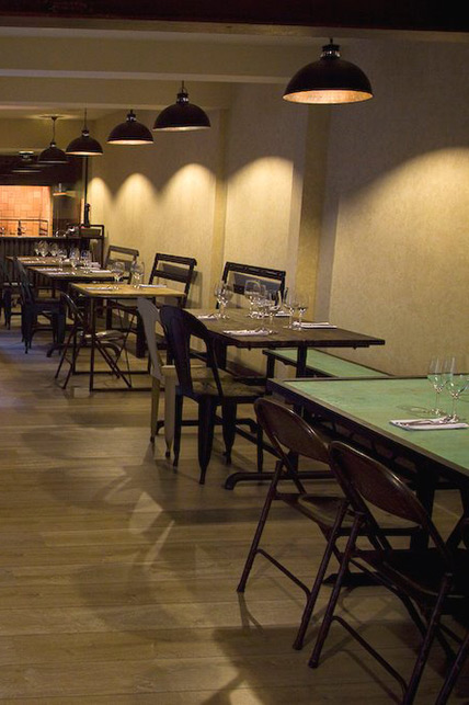 Imagenes del Mobiliario Collage Restaurant.