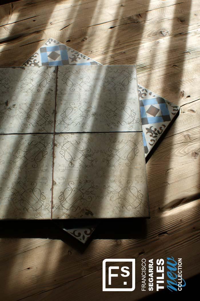 Imágenes de la noticia sobre las novedades en la colección FS Tiles