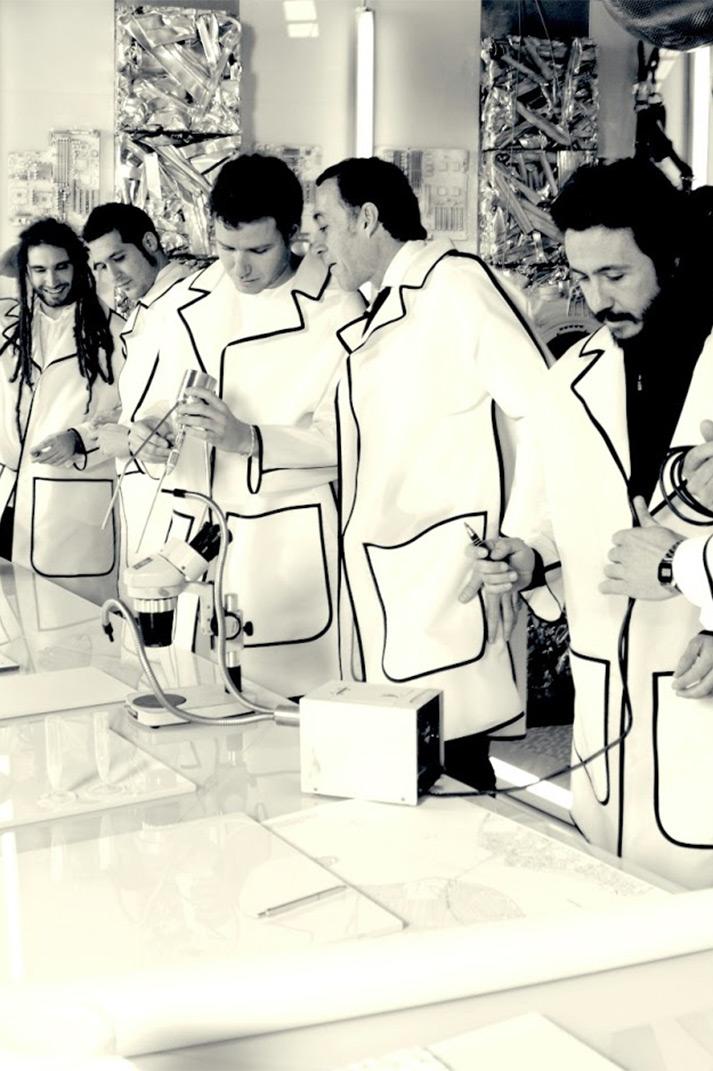 Francisco Segarra en Peronda fashion Lab.