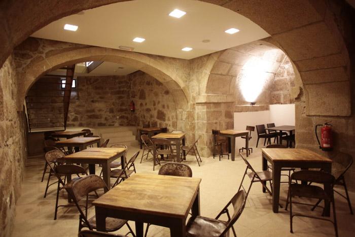 Imágenes de las mesas, Francisco Segarra en hotel Carris Porto Ribeira