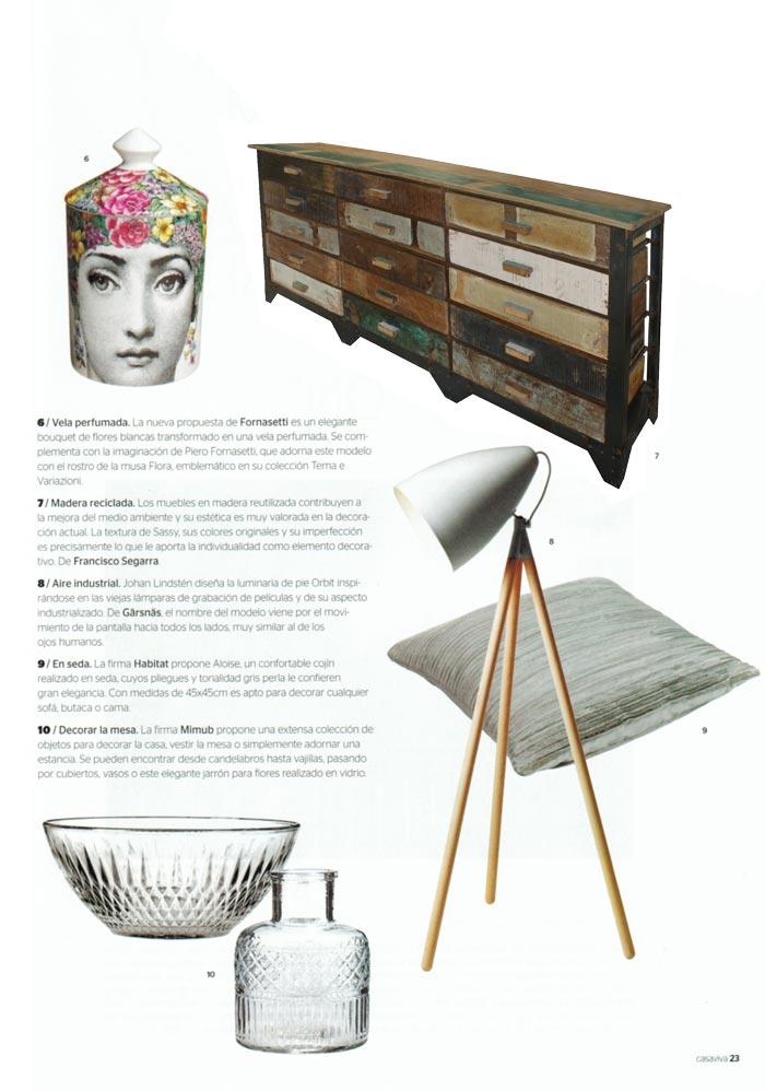 Fotos del mueble Sassy en la publicación casa viva