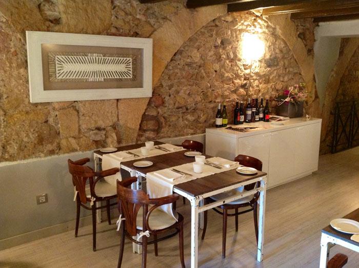 Imágenes del proyecto de interiorismo en el restaurante Degvusta