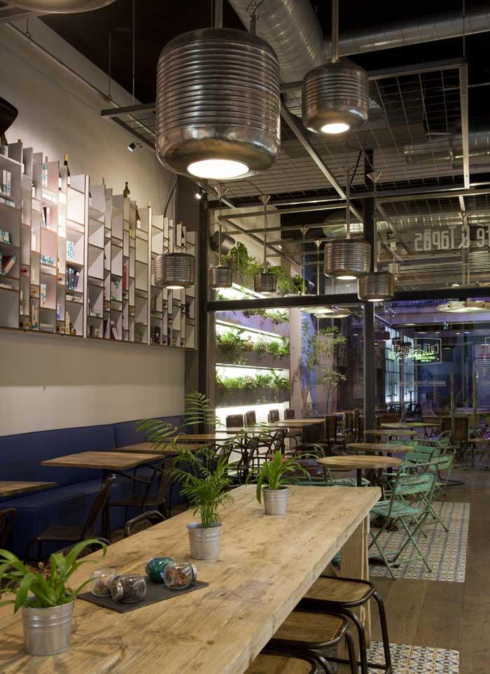 Proyecto interiorismo restaurante franquicia caf tapas - Cuca arraut interiorismo ...