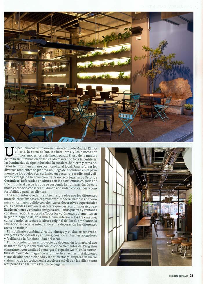 Imágenes interiores de la publicación Proyecto contract