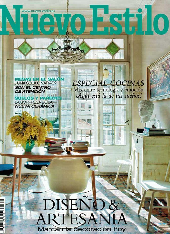 Imágenes de la portada de Nuevo Estilo Abril 2013