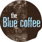 Imágenes del logotipo de la cafetería The Blue Coffee