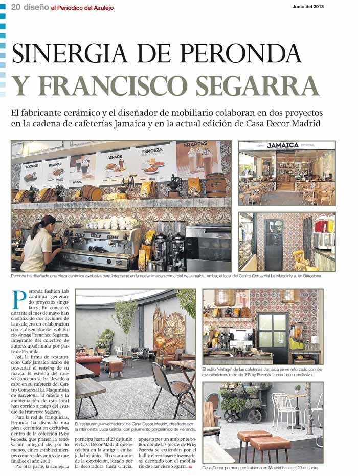 Imágenes sobre noticias de Francisco Segarra en Periódico del Azulejo