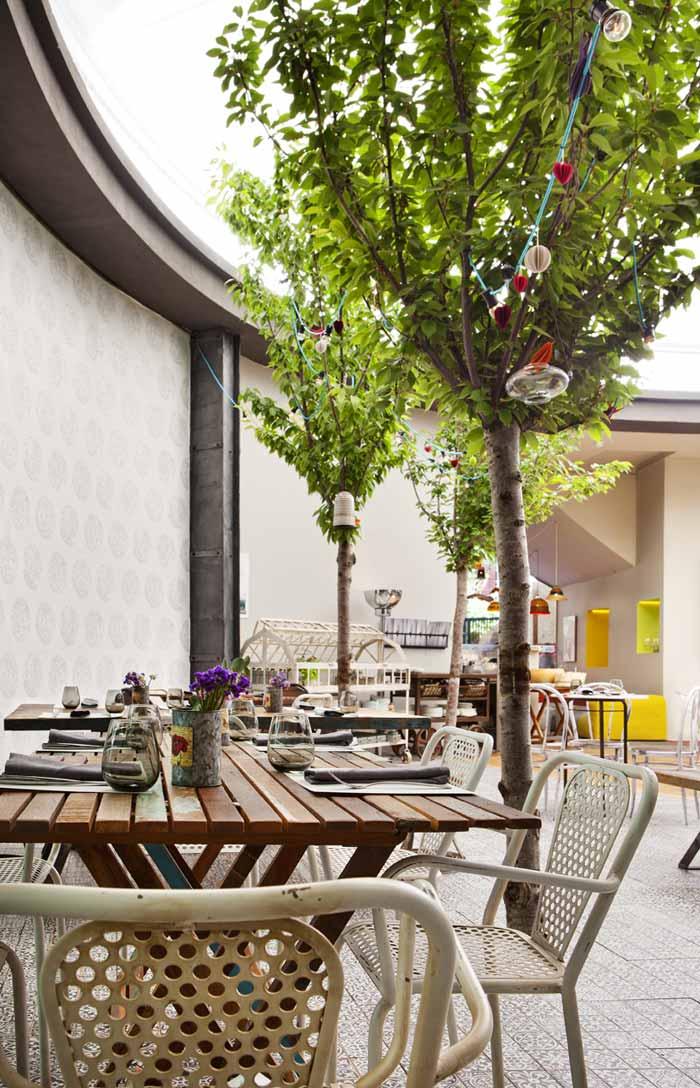 Imágenes del proyecto de interiorismo restaurante Casa Decor 2013 Madrid