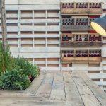 imágenes del proyecto de interiorismo de la terraza Il Rosso Puerto