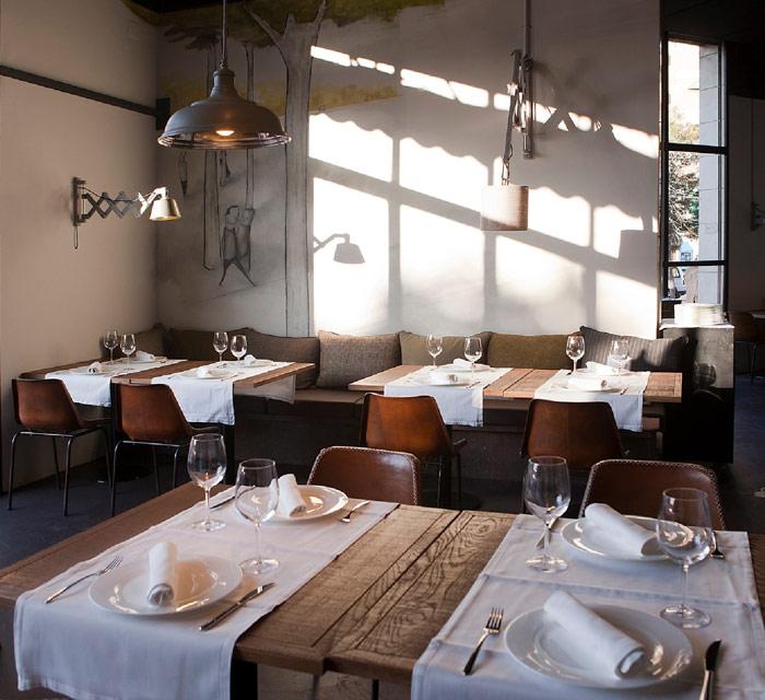 Fotos del proyecto de interiorismo Taberna Comer, Beber, Amar
