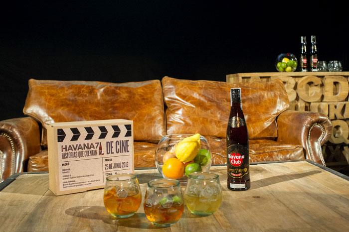 Imágenes del Mobiliario del evento Havana 7. La Prensa Cinematográfica.