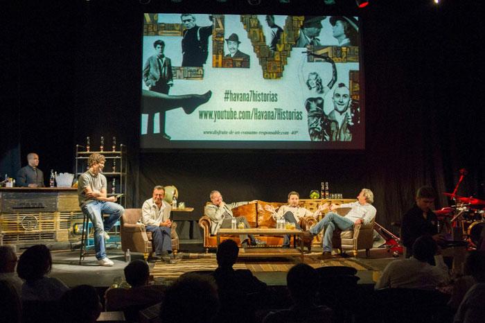 Imágenes de los muebles vintage en el evento de Havana 7. Historias que cuentan.