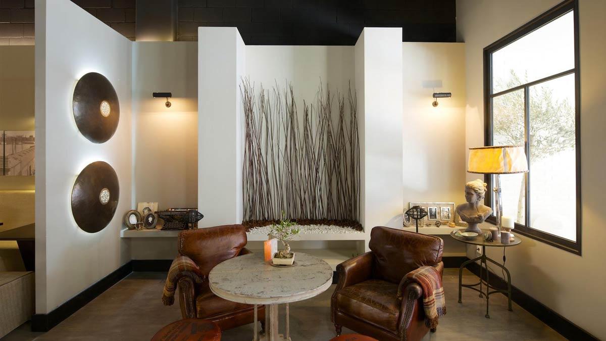 Imágenes del mobiliario FS en los proyectos de interiorismo hostelero