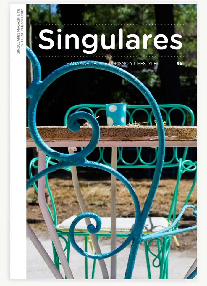 Portada Singulares Magazine 2013