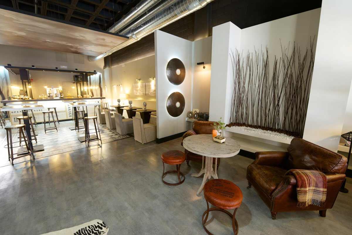 Imágenes del proyecto restaurante minimalista Bal D´O