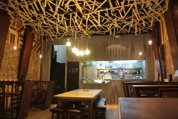 Foto de la Decoración proyecto de interiorismo cervecería BierCaB.