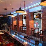 Imagen de la iluminación en el bar de tapas DVINOS