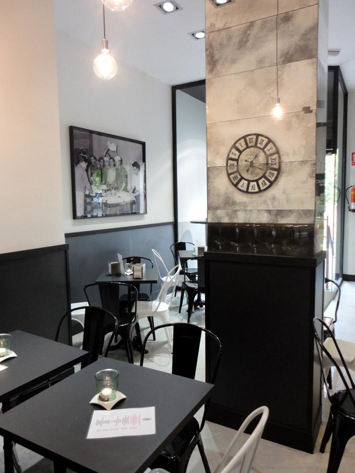 Imagen del proyecto interiorismo en la pastelería Lazareno Gourmet
