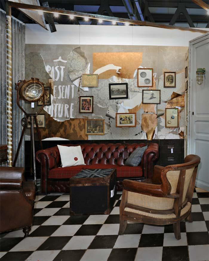 Foto del salón HOST con los sillones y sofás de la firma Francisco Segarra en HOST