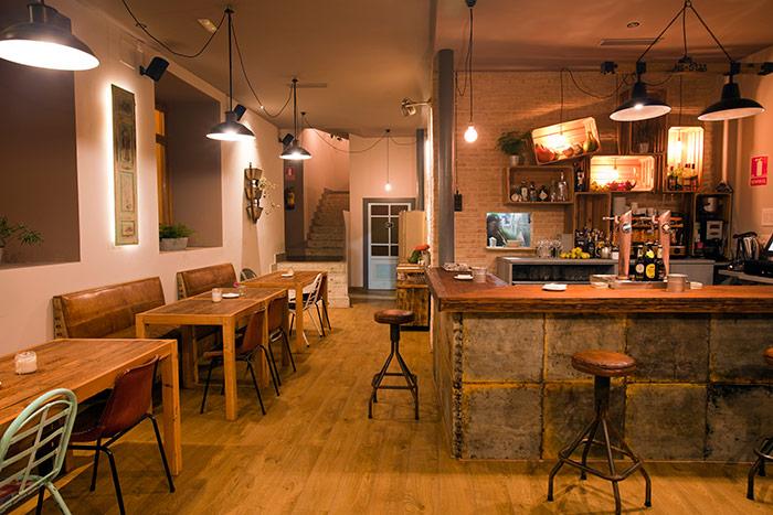 Proyecto de decoraci n interior en restaurante soul kitchen - Barras de bares ...