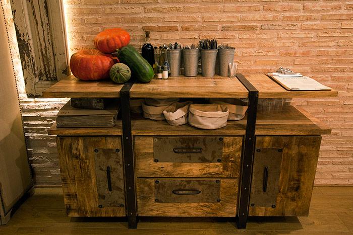 Foto del Mueble Watson para hostelería de la firma Francisco Segarra.