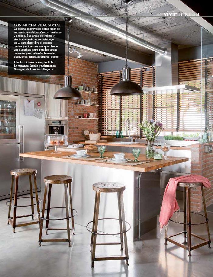 Foto del proyecto de interiorismo para vivienda del estudio EGUE Y SETA.