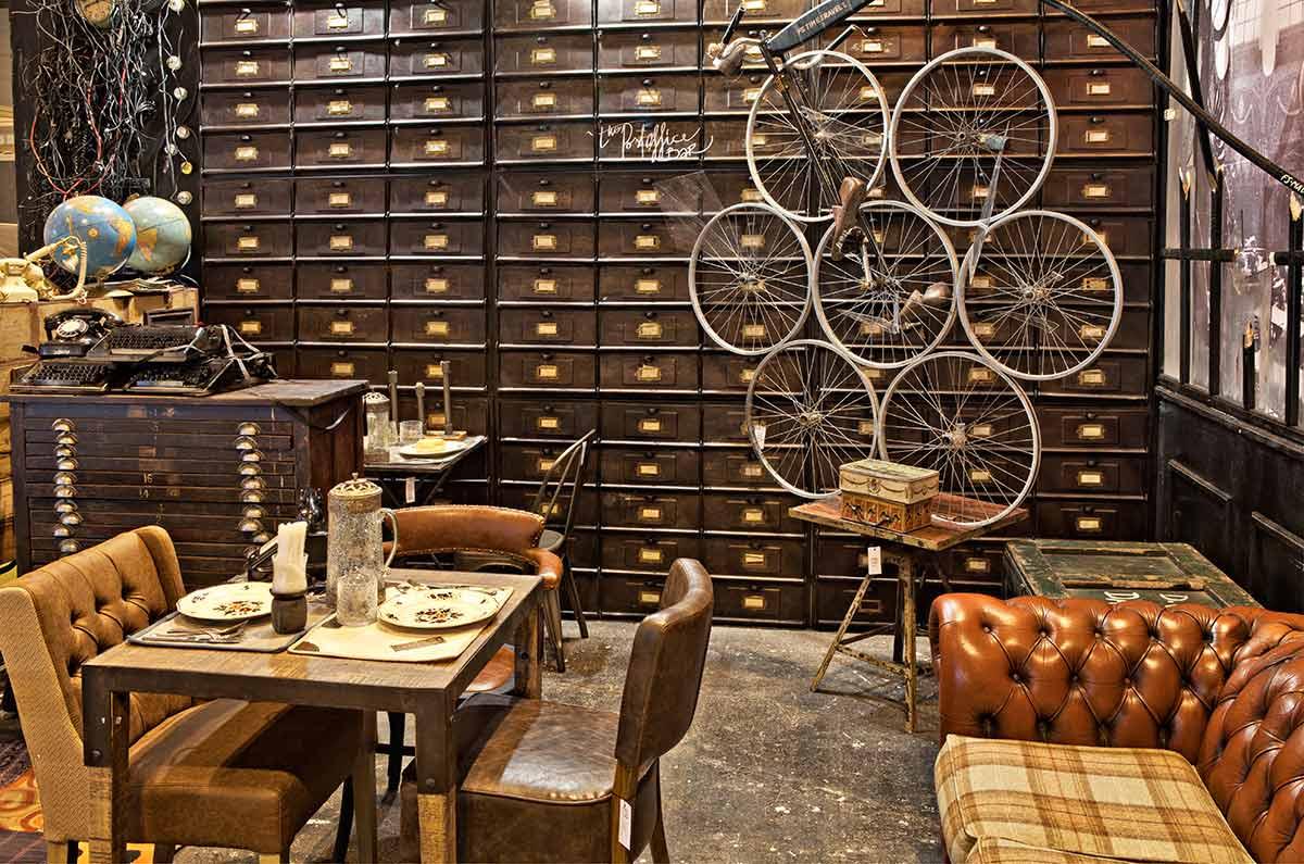 Fotos de la decoración de cafeterías por Francisco Segarra.