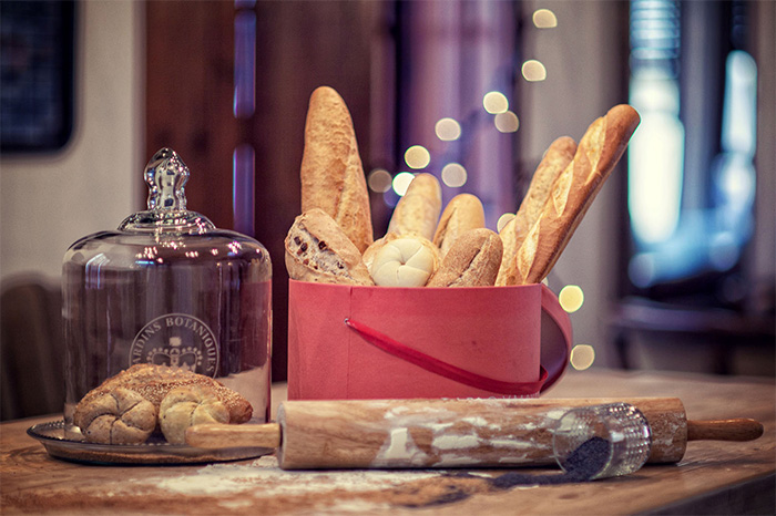 Foto de Diego Rando en la Panadería Forn Le Petit Pain