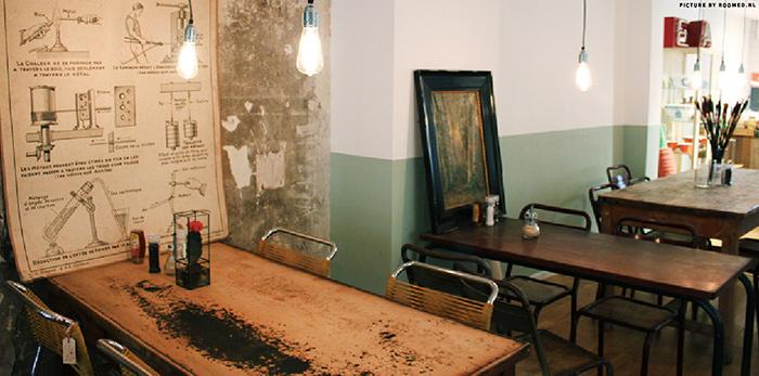 Imagen de la firma Francisco Segarra. Muebles para decoración en comercios.