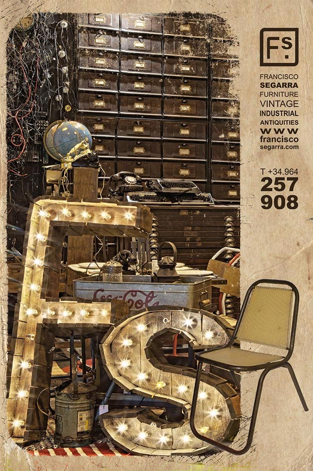 Catálogo de mobiliario vintage